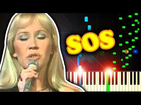 ABBA - S. O. S. - Piano Tutorial