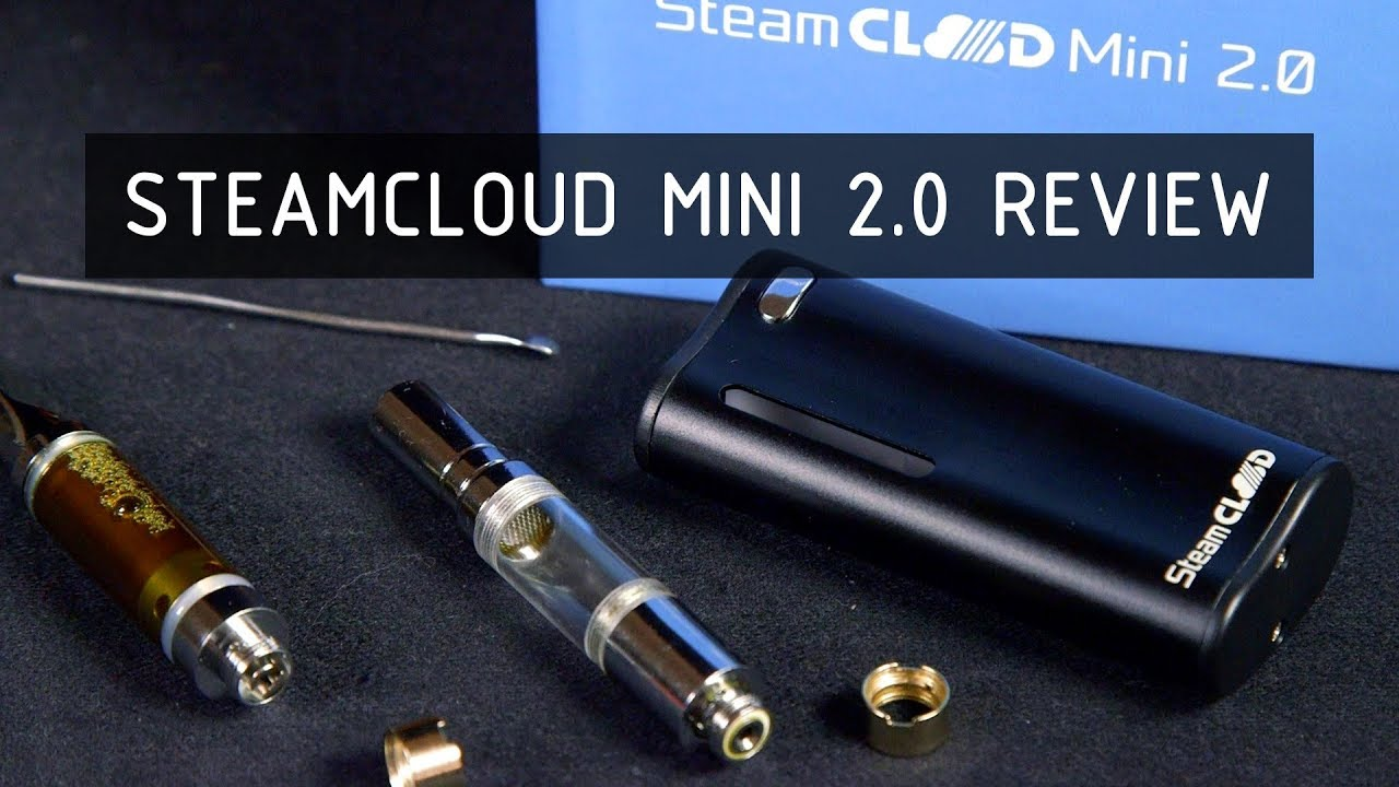 SteamCloud Mini 2 0 Oil and Wax Vape Review - YouTube