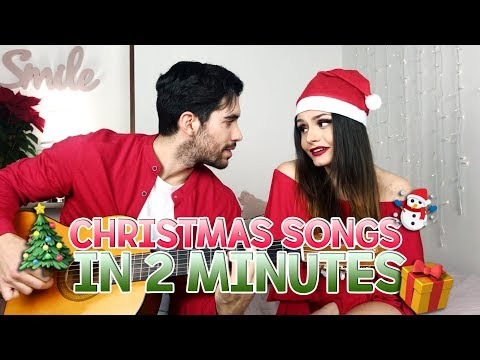 CHRISTMAS SONGS IN 2 MINUTES | MARYNA