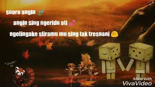 Banyu Langit, Status WA lirik lagu