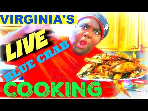 Virginia's Live Blue Crab Cooking 2016