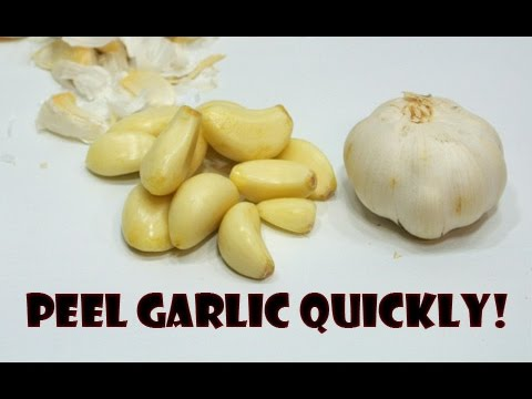 how-to-peel-garlic-quickly---life-hack