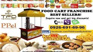 TFD-Idream Product Lines (Food Cart Franchises, Kambal Pandesal Franchise, B-Leaf Organic Barley)