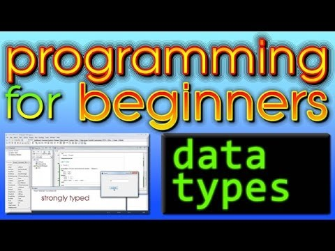 Programming For Beginners - Data Types
