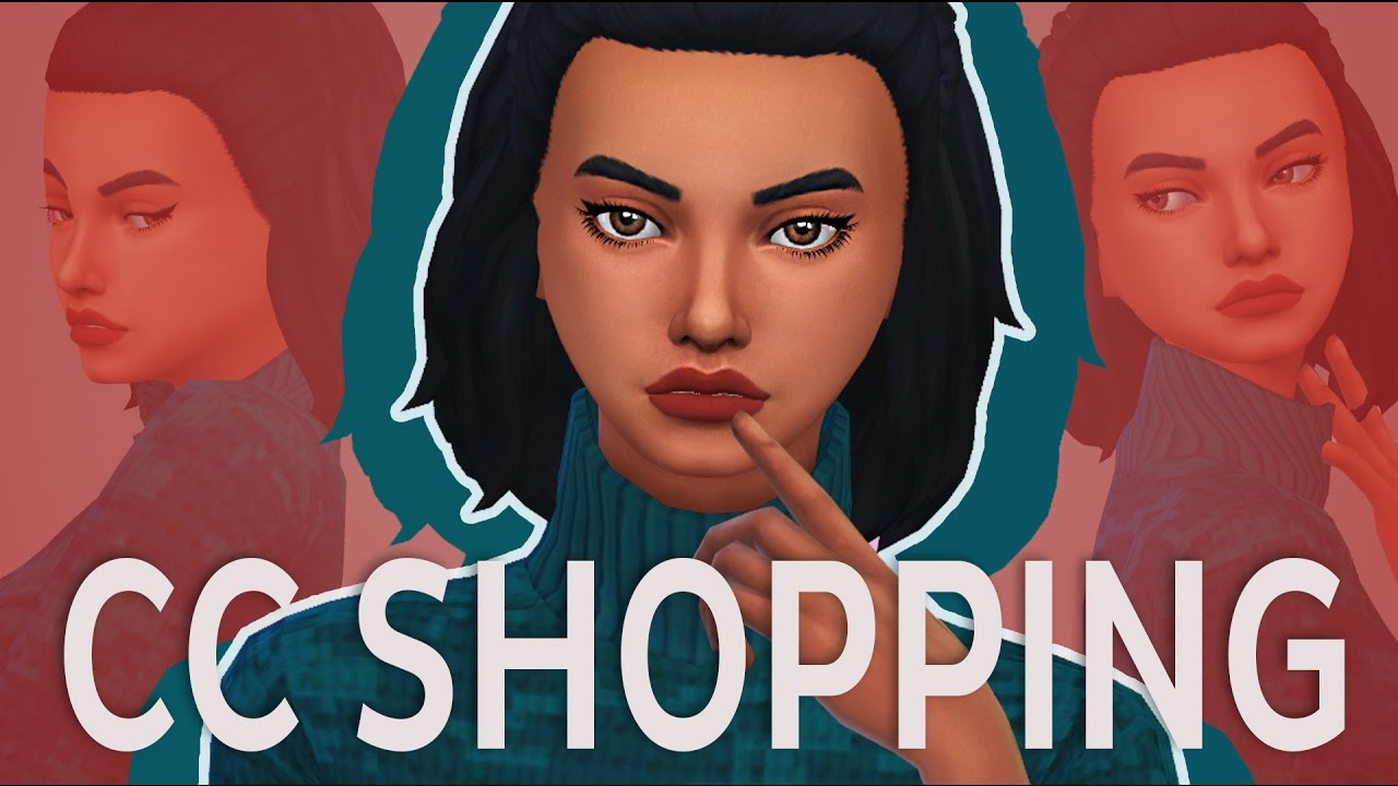 The Sims 4 | CC Shopping #8 - Colourful Things ✿