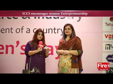 International Women's Day celebrated by Islamabad Chamber of Commerce & Industry.