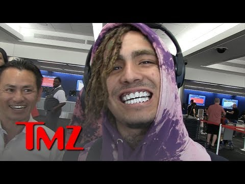 Lil Pump Gets $70k Diamond Grills Delivery at LAX | TMZ