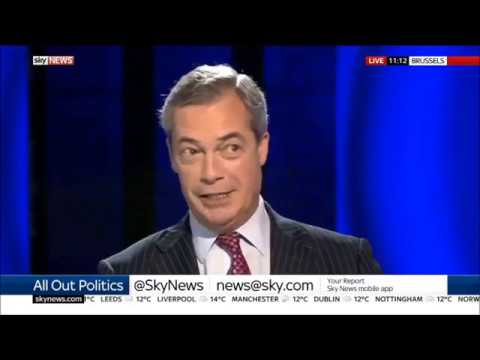 Nigel Farage the EU can whistle for our money