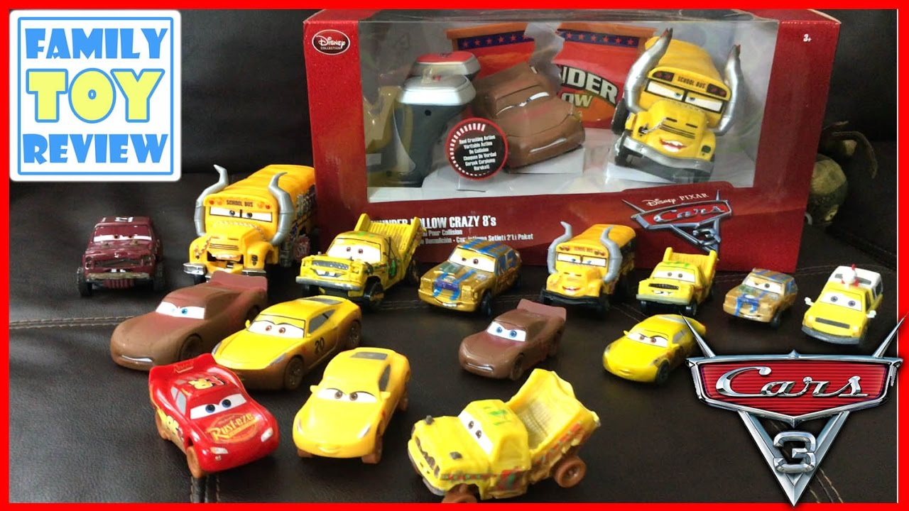 disney cars 3 toys demolition derby miss fritter chester whipplefilter cars 3 figurine. Black Bedroom Furniture Sets. Home Design Ideas