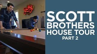 scott brothers las vegas house tour the game room