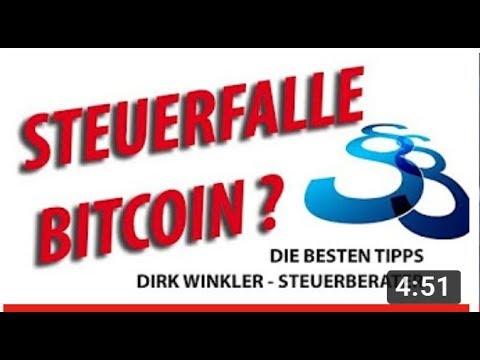 Bitcoin Steuern - Bitcoin Finanzamt - Bitcoin Steuererklärung - Kryptowährung