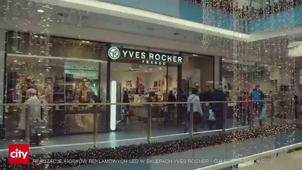 Kioski Reklamowe Yves Rocher City Krakow Youtube