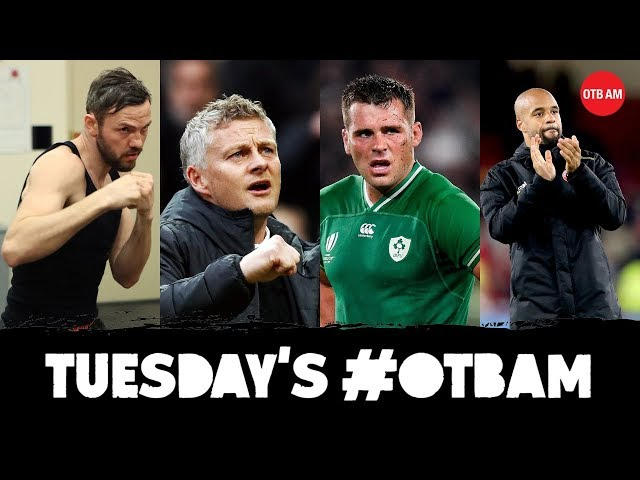 LIVE | #OTBAM: Andy Lee, RWC 2019, Champions League, Gary Breen, 'Charlie', College Football |