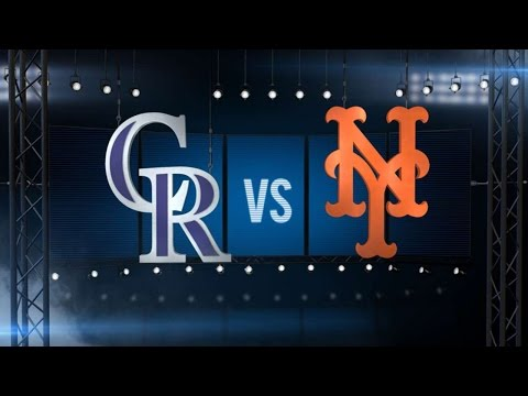 7/28/16: Rockies Rally In The 9th To Defeat The Mets