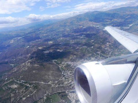 Avianca Vuelo Quito-Bogotá A320 HD