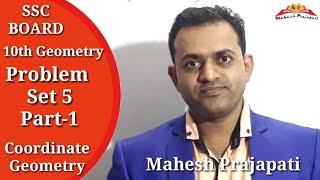 10th Geometry Problem Set 5 Part 1 || Coordinate Geometry || Mahesh Prajapati