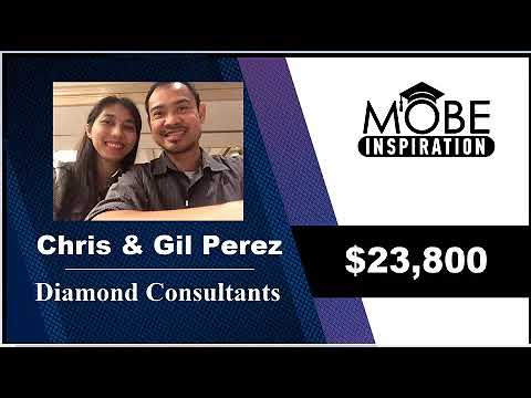 Diamond Consultants Chris and Gil Perez Earn $23,800 In One Day Promoting Live Events