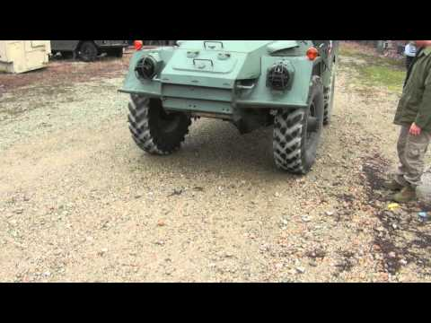 Sonim XP3300 Indestructible Phone VS Armored Personal Carrier BTR-40
