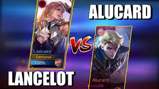 LANCELOT VS ALUCARD | SWORD VS SWORD | WHO WILL WIN ? | MOBILE LEGENDS