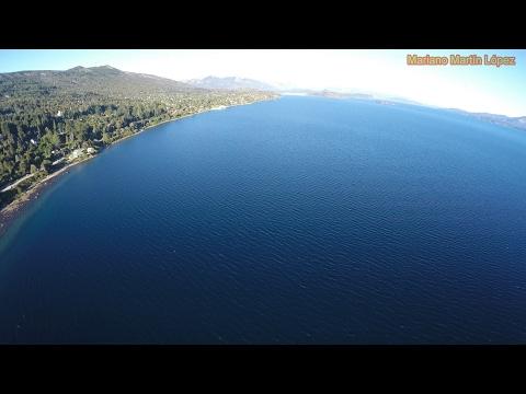 Bariloche desde un drone 1 - Patagonia Argentina from a drone in 4K