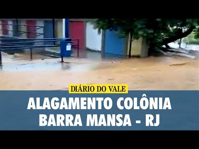 Alagamento Colônia, Barra Mansa