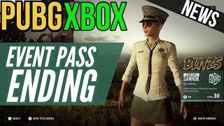 PUBG Xbox: Event Pass is Ending (Rewards & More!)