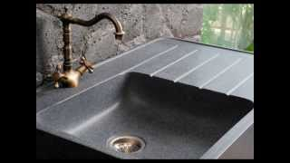 FarmHouse Granite Kitchen Sink Black Shanxi and Trendy Gray - living'ROC(, 2014-03-15T19:15:06.000Z)