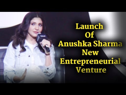 Launch Of Anushka Sharma New Entrepreneurial Venture| Nush | Uncut
