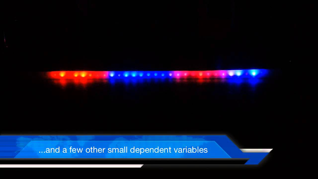 Trinket neopixel police lights youtube