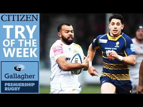 Vote Now! | Citizen Try Of The Week - Round 16 | Gallagher Premiership 2018/19