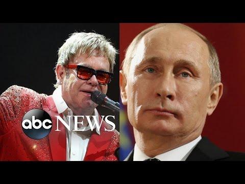 Vladimir Putin, Elton John Allegedly Discuss Gay Rights