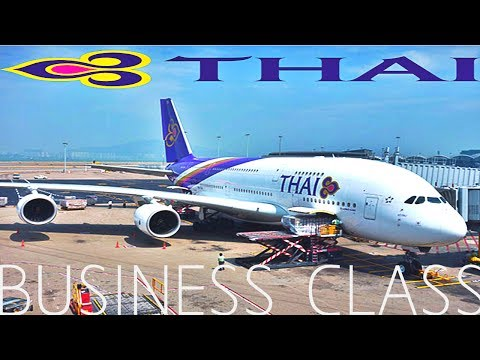 THAI AIRWAYS BUSINESS A380 TO TOKYO !
