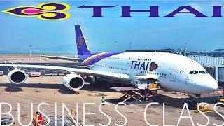 THAI AIRWAYS BUSINESS A380 TO TOKYO !