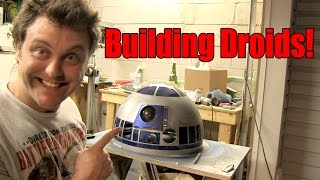 Two Day Build! (Austin and Scott make an R2 dome from scratch)