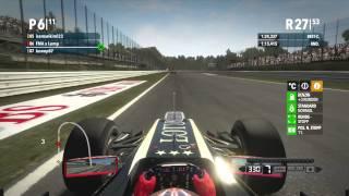 F1 2012 / 1.No-Assistliga / Italy / Xbox 360 Gameplay