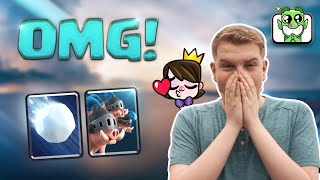 NEW UPDATE! 12 Win Royal Hogs vs Giant Snowball Challenge LIVE Gameplay - Clash Royale
