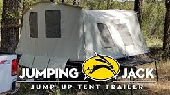 """Jumping Jack Tent Trailer REVIEW """"Black Out Edition"""" by Tines Up"""