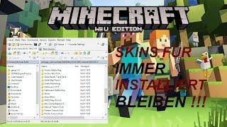 Gratis Skins installieren Bessere Version       Minecraft Wii u Edition