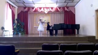 А.Комаровский-Концерт №3 ре-мажор.Часть 3.Исп.Маша Бахтина( 8лет)