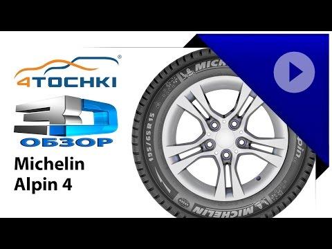 3D-обзор шины Michelin Alpin A4