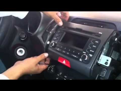 2007 Kia Rio Radio Wiring Diagram Cub Cadet Lt1046 Desmontar Oem Sportage 2011 - Youtube