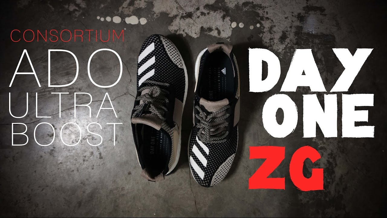 71d6dc48d Adidas DAY ONE ADO ULTRABOOST ZG 2017  VERY SPECIAL - YouTube