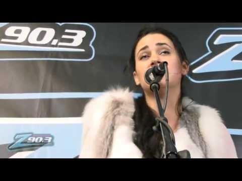 """Kat Dahlia - """"Gangsta"""" - Live Acoustic at Jammin' Z90"""