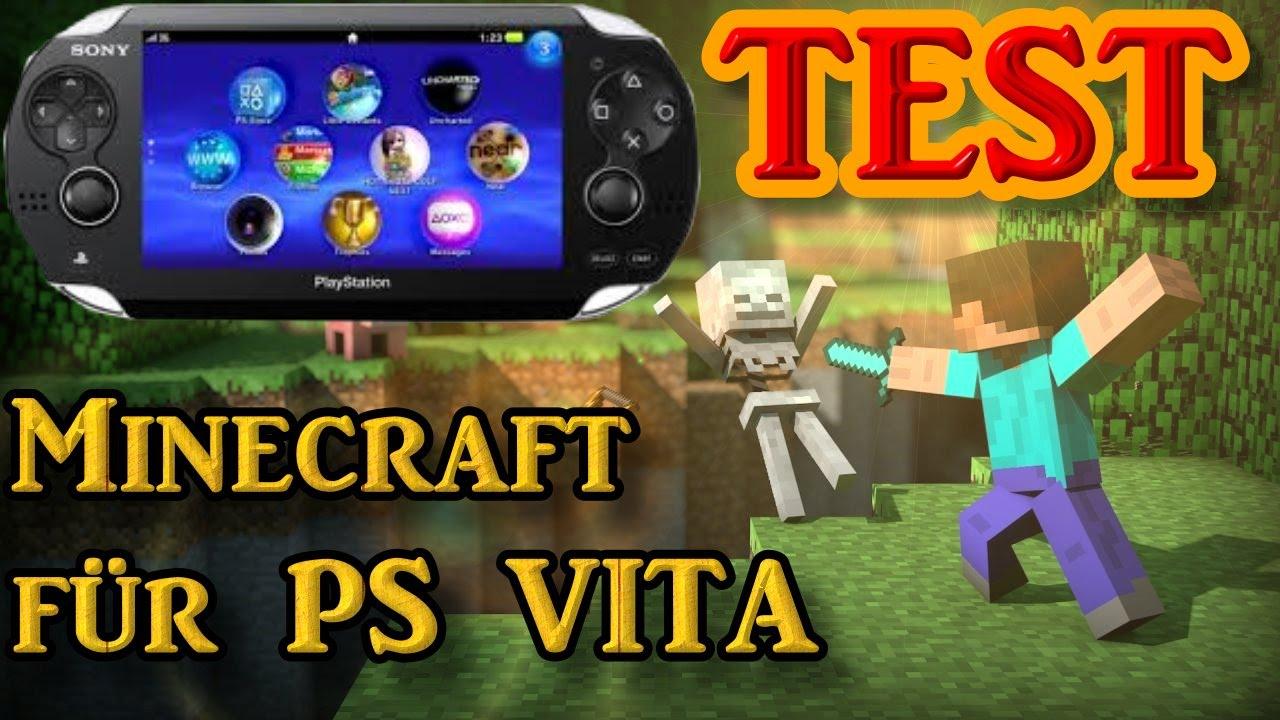 Minecraft Für PS Vita Lets Show GermanDeutsch YouTube - Minecraft spiele fur ps vita