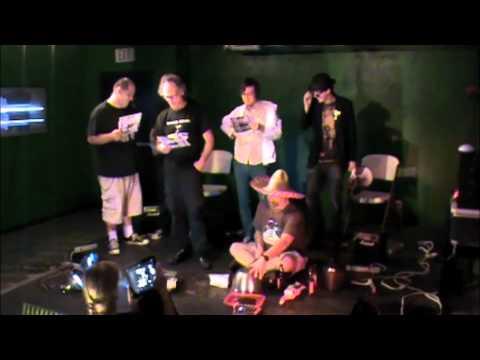 Jesse Thelonious Vance and Larry Bruce Laboratory Music 5 Improvisation Festival