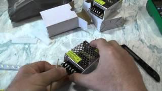 Посылка №164. Импульсный источник питания для LED светодиодов. Тест(Посылка №164. Импульсный источник питания для LED светодиодов. Тест Тип изделия: Трансформатор освещения..., 2015-04-19T12:00:01.000Z)