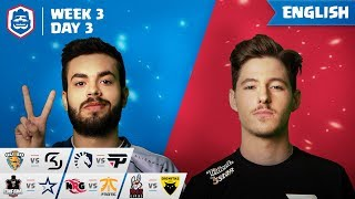 Clash Royale League: CRL West 2019 | Week 3 Day 3! (English)