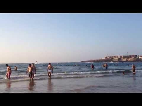 رجل طائر في شاطئ المحمدية.. Iron man plage mohammedia maroc