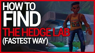 The BEST WAY to FIND THE HEDGE LAB on GROUNDED (2020)