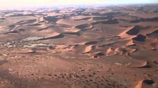 Scenic flight over Sossusvlei